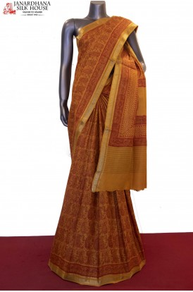Prints & Exclusive Handloom Pure Tussar Silk Saree