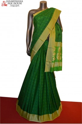 Exquisite & Finest Printed Pure Silk Saree