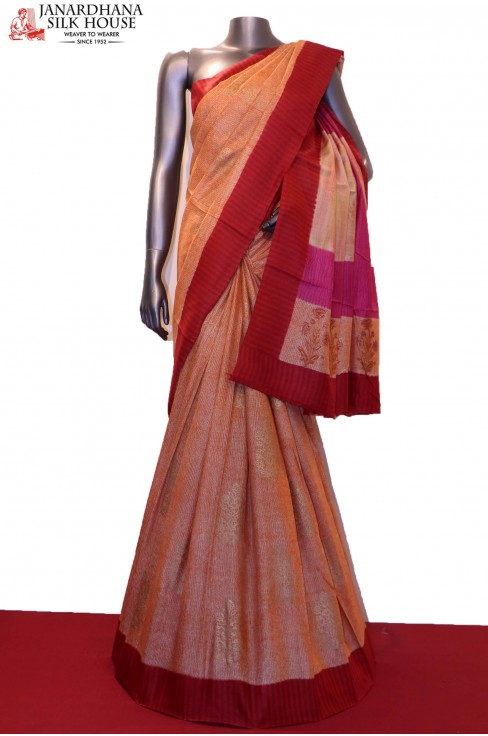 Printed Pure Tussar Silk Saree..