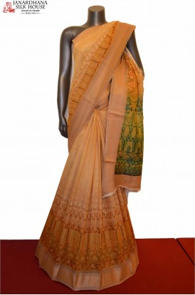 Exclusive Party Wear  Tussar Pure Silk Saree
