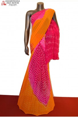 AE207902-Special & Exclusive Pure Bandhani Silk Saree