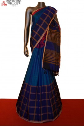 Exclusive Checks Special Pure Soft Silk Saree