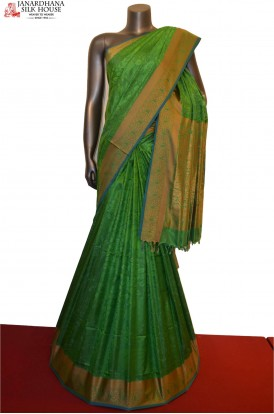 Master Thread Weave Exclusive Handloom Pure Soft Silk Saree