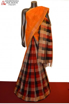 Designer & Exclusive Patli Handloom Pure Soft Silk Saree