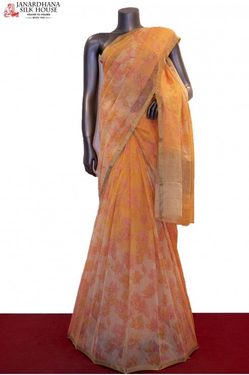 Floral Exclusive Pure Silk Chi..