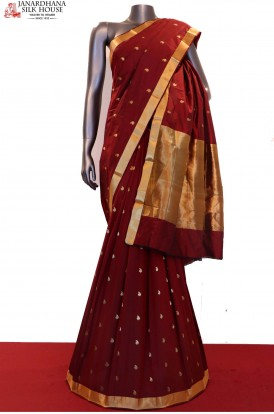 Traditional Art South Silk Saree