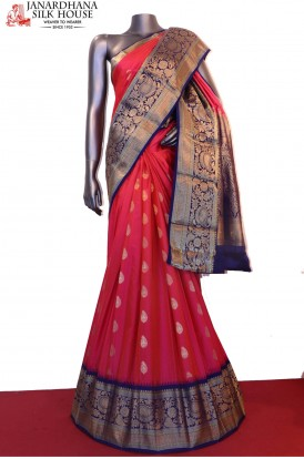 Designer & Grand Exclusive Wedding Pure South Silk Saree