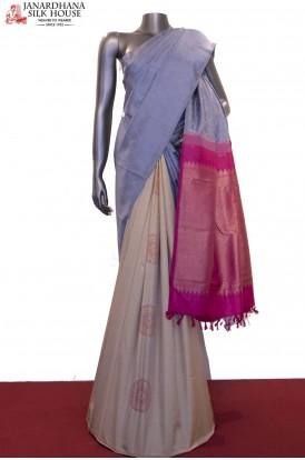 Designer & Exclsuive Grand Patli Kanjeevaram Silk Saree