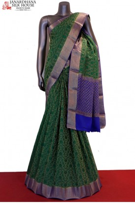 Designer & Exclusive Grand Pure Crepe Silk Saree