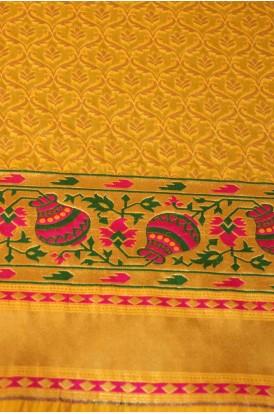 Exclusive Banarasi Silk Fabric W-44-45 Inches