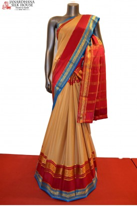Exclusive & Grand Pure Mysore Crepe Silk Saree