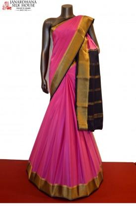Traditional & Classic Pure Mysore Crepe Silk Saree