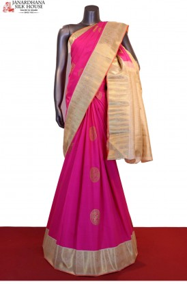 Bridal Exclusive Handloom Kanjeevaram Silk Saree