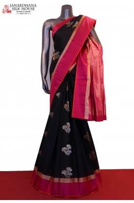 Designer & Exclusive Handloom Pure Soft Silk Saree