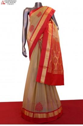 Exclusive Handloom Pure Silk Cotton Saree