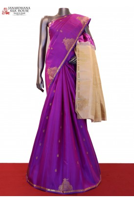 Designr Wedding Handloom Kanjeevaram Silk Saree