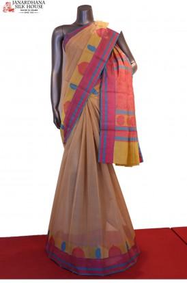 Exclusive Thread Weave Handloom Pure Silk Cotton Saree