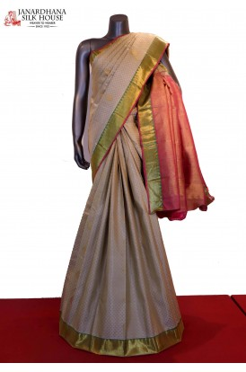 Handloom Wedding Kanjeevaram Silk Saree