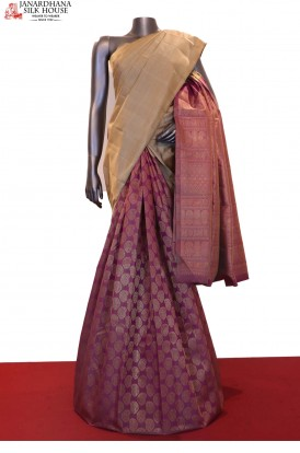 Exclusive & Grand Patli Wedding Kanjeevaram Silk Saree