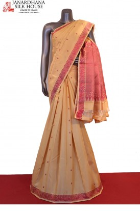 AF201862-Traditional Thread Weave Classic Pure South Silk Saree