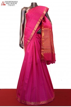 Traditional Handloom Wedding Kanjeevaram Silk Saree