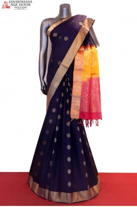 Exclusive & Designer Hand Woven Pure Soft Silk Saree