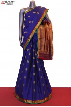 Traditionalhakram Peacock Wedding Kanjeevaram Silk Saree