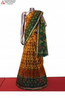 Handloom Exclusive Pure Pochampally Silk Cotton Saree