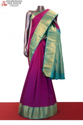 Exclusive & Classic Wedding Kanjeevaram Silk Saree