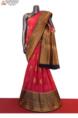Designer Art Tussar Silk Saree