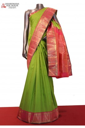 Bridal Wedding Exclusive Handloom Kanjeevaram Silk Saree