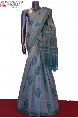 Exclusive Handloom Pure Tussar Silk Saree