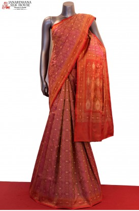 Master Weave & Exclusive Satin Jamawar / Tanchoi Silk Saree