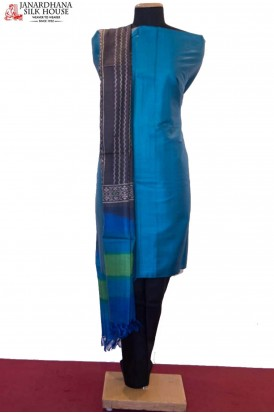 Exquisite Dupatta & Handloom Pure Tussar Silk Suit