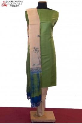 Exquisite Dupatta & Special Handloom Pure Tussar Silk Suit