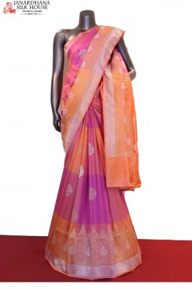 Exquisite & Designer Handloom Banarasi Silk Saree
