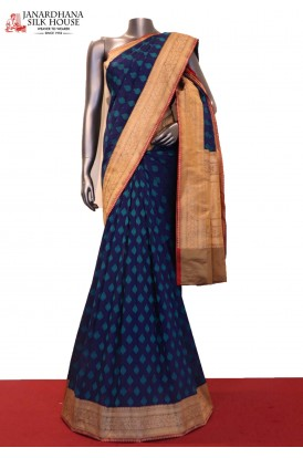 Exclusive & Classic Wedding Handloom Banarasi Silk Saree