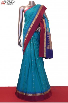 AF206276-Exclusive Wedding Pure South Silk Saree