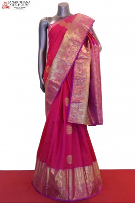 Grand Wedding Kanjeevaram Silk Saree