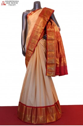 Exclusive Grand Wedding Pure South Silk Saree