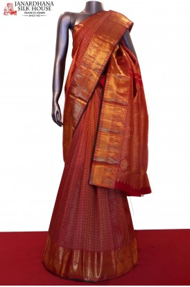 Exclusive & Master Weave Bridal Zari Kanjeevaram Silk Saree