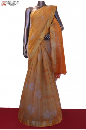 Printed Art Tussar Saree