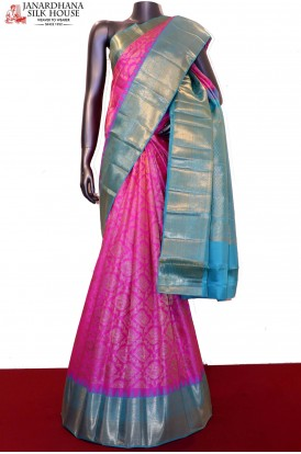 Designer & Exclusive Grand Bridal Kanjeevaram Silk Saree