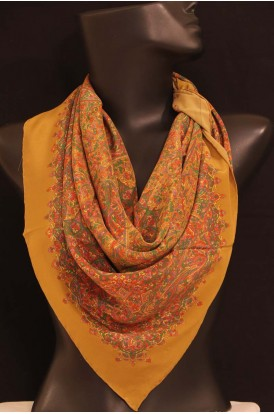 Exclusive Printed Pure Silk Scarf