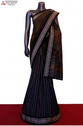 MasterWeave Patli & Exclusive Handloom Pure Ikat Orissa Silk Saree