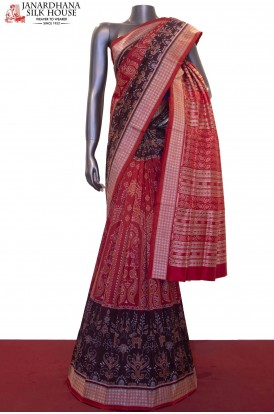 Master Weave & Exclusive Handloom Pure Ikat Orissa Silk Saree