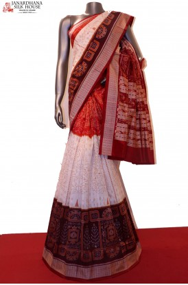 MasterWeave  & Exclusive Handloom Pure Orissa Silk Saree