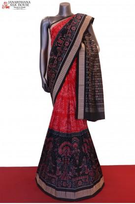 Master Weave & Exclusive Handloom Pure Ikat Orissa Silk Saree