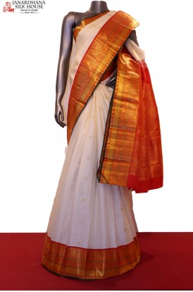 Bridal Exclusive Wedding Handloom Kanjeevaram Silk Saree