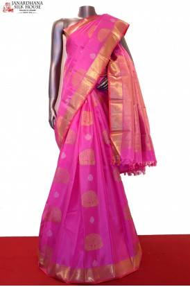 Designer & Exclusive Handloom Kanjeevaram Silk Saree